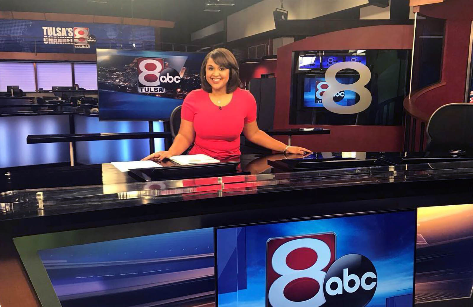Angelica Alls Anchoring for KTUL News