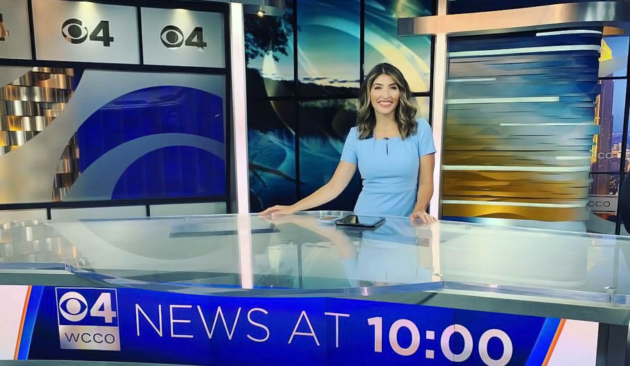 Erin Hassanzadeh Ready for News Coverage