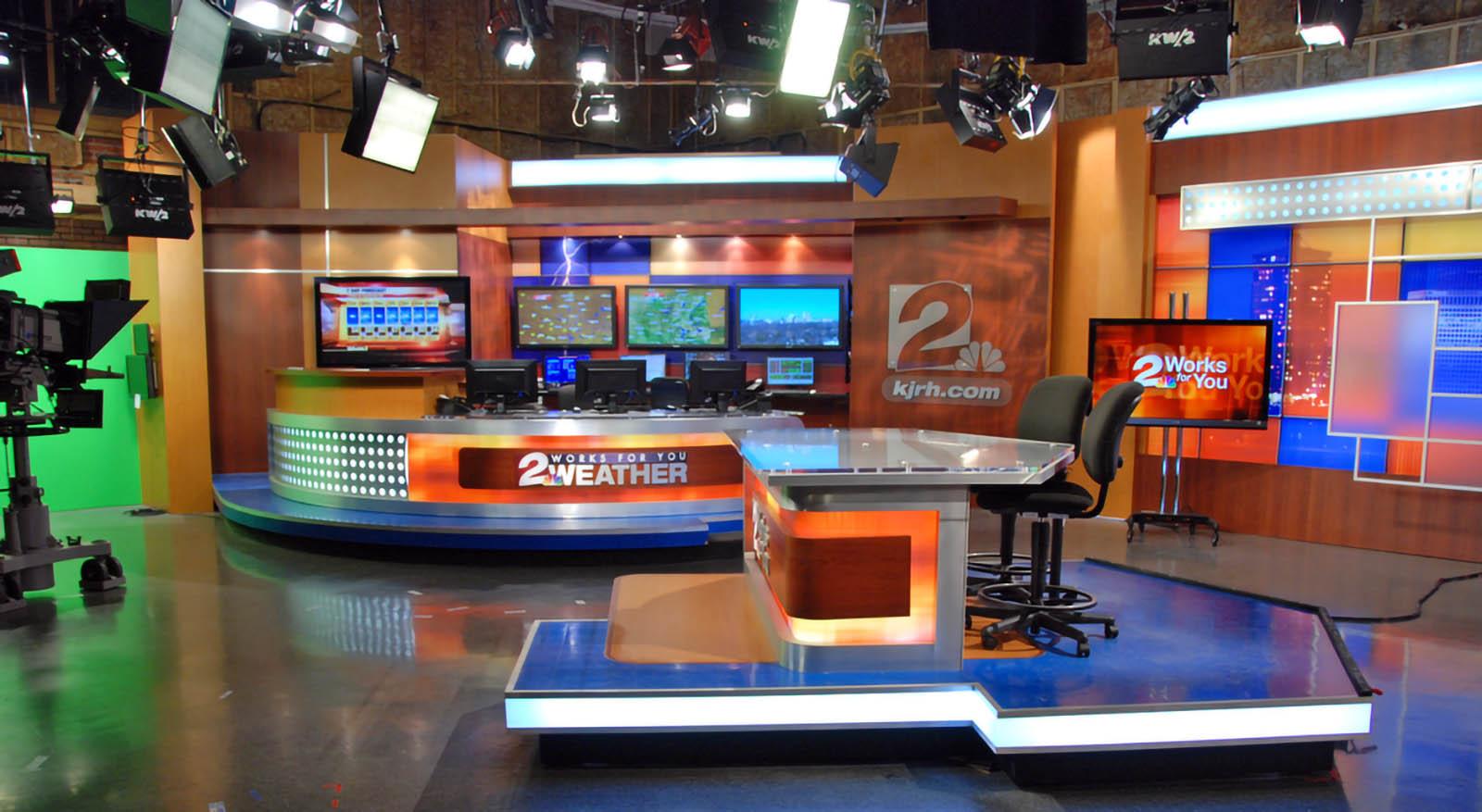 KJRH Tulsa Live Coverage Studio