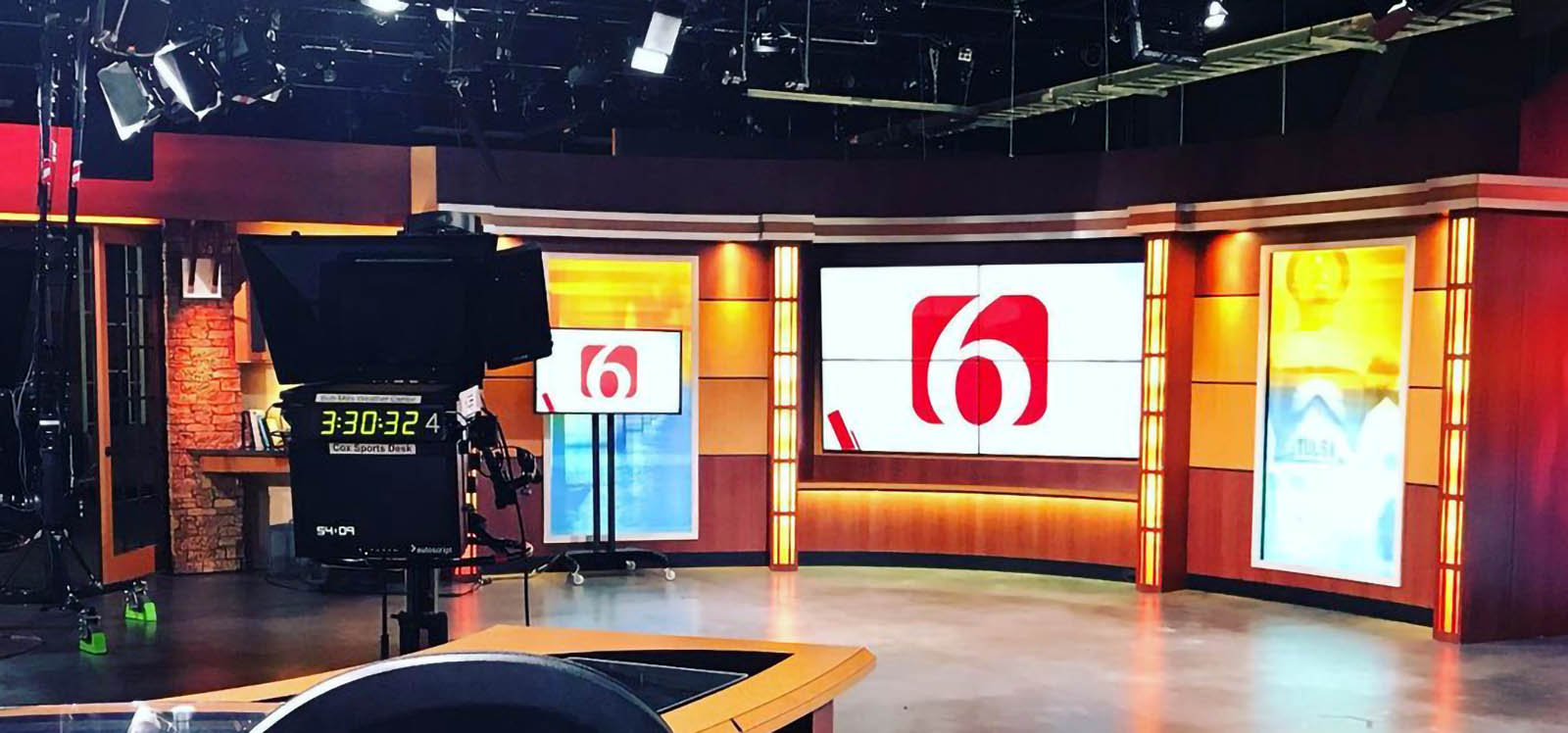 News On 6 Live Coverage Studio