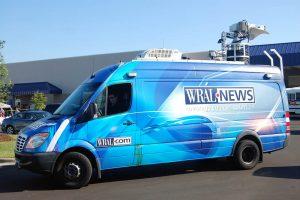 Satellite Van WRAL News