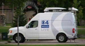 WCCO News Live Coverage Van