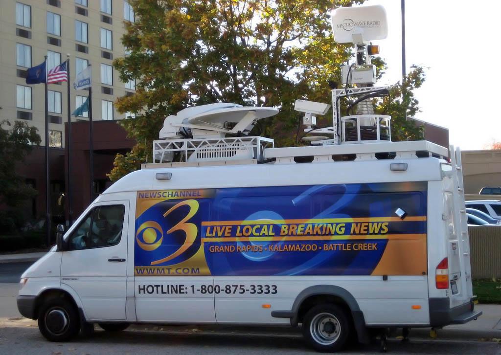 Satellite Van WWMT News