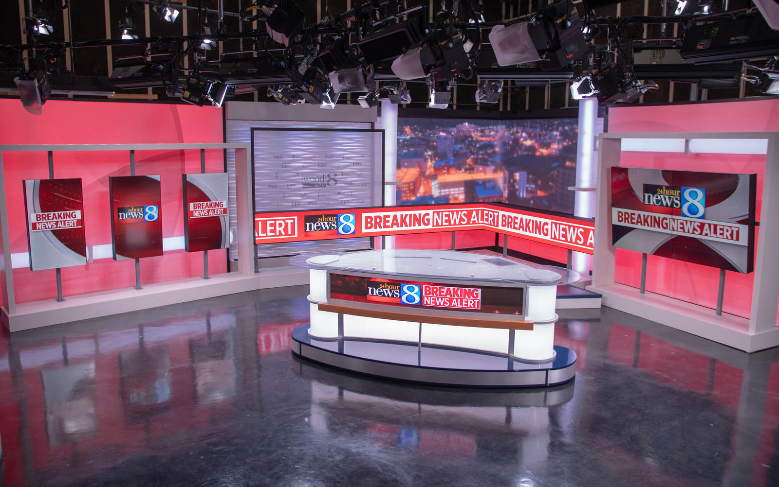 WOOD TV 8 Live Coverage Studio