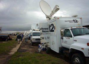 Satellite Van for KWCH News