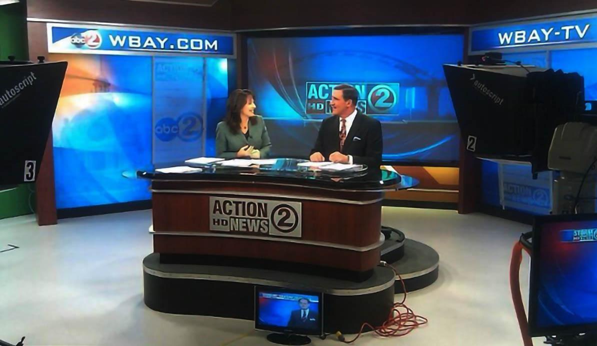 WBAY News Live Coverage Studio